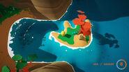 Hand Shaped Island treasure quest