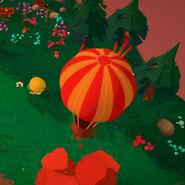 Hot Air Balloon - Close Up