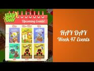 Hay Day Week 47 Events