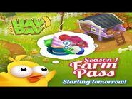 Hay Day Farm Pass Season Season 1 • Greg's Holiday Advent Calendar 2020 - Day 1