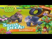 Hay Day Sneak Peek - The Gorillas, New Sanctuary Animal and Deco