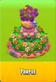 Pedestal Level 5 Pedestal Floral Pink Daisies Pink Floral Golden Daisies Orange Vase Purple
