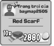 Red Scarf DD
