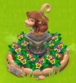 Pedestal Decoration
