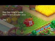 Hay Day Greg's Lunar New Year Calendar 2021 • Day 7