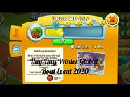 Hay Day Winter Global Boat Event 2020