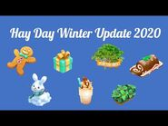 Hay Day Winter Update 2020 - New products, event, decorations and much more! 🎄⛄️