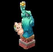 Lady Statue Decoration