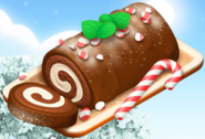 HayDay cake oven chocolate roll