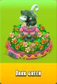 Pedestal Level 5 Pedestal Floral Pink Daisies Pink Floral Golden Daisies Orange Monkey Dark Green