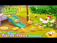 Hay Day Farm Pass Trial Season Gameplay 🐥 • Smelter 1st Mastery Star 🌟