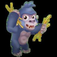 Grey Baby Gorilla