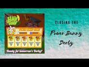 Hay Day Closing the Power Bunny Derby