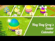 Hay Day Greg's Easter Calendar 2021 • Opening all gifts