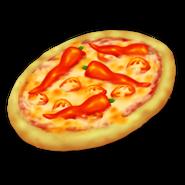 Kryddstark pizza