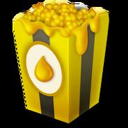Honungspopcorn