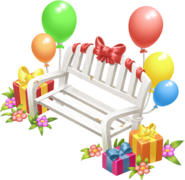 Birthday Bench