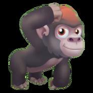 Brown Baby Gorilla