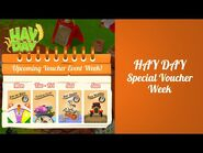 ⭐️ Hay Day Special Voucher Week Events ⭐️