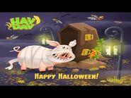Hay Day Halloween Theme • Gameplay 🎃