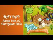 Hay Day Fall Update 2020 Sneak Peek -2 - New Sanctuary Building & Animal