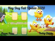 Hay Day Fall Update 2020 - Farm Pass and Baby Chicks! 🐥