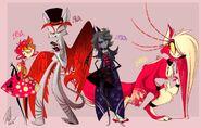 Hazbin Demons (old) 2