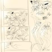 Demon Misfit Gang doodles