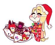 Charlie Christmas Cookies