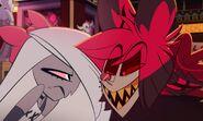 Alastor taunts Vaggie