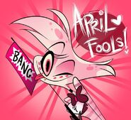 Angel April Fools