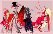 51237308567 - 03 - Vivienne Medrano's Portfolio - zoophobiacrazies Misfit Demon Gang lineup as it