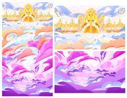 Heaven background art