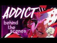 ADDICT Music Video - Behind The Scenes! - Making It Spider Sexy -hazbinhotel -addictmv