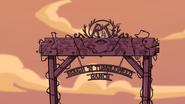 Rough n' Tumbleweed Ranch Sign