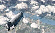 London zeppelin