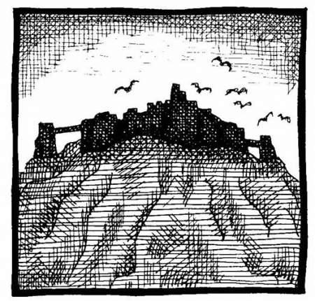 Basalt fortress