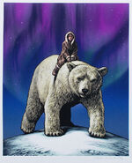 Northern Lights signed print by Chris Wormell
