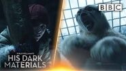 Lyra witnesses BRUTAL polar bear fight! His Dark Materials - BBC