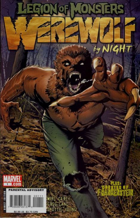 Legion of Monsters: Werewolf by Night 1