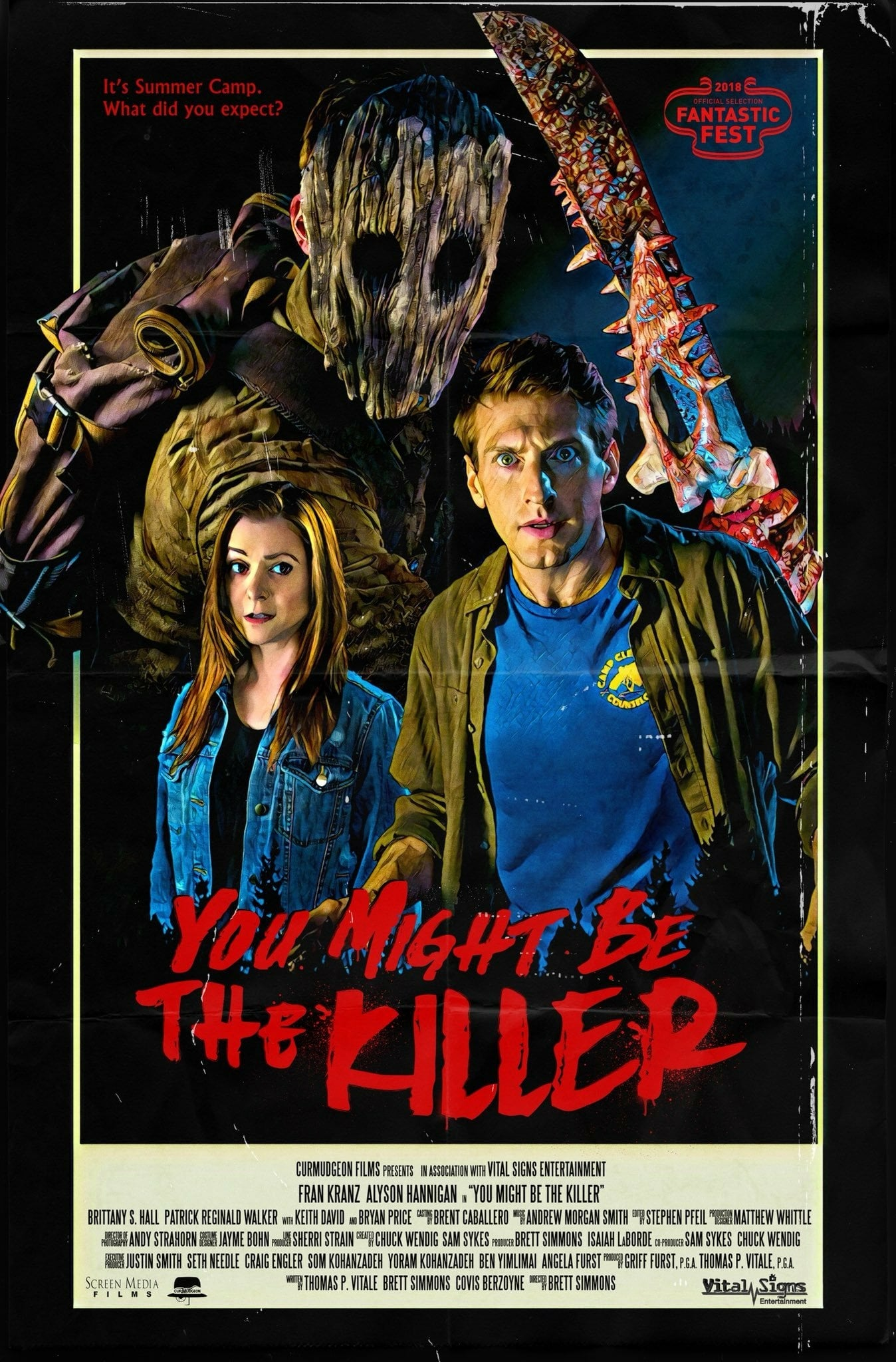 You Might Be the Killer