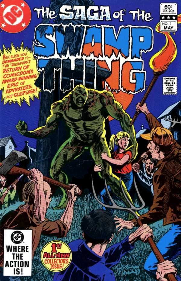 Swamp Thing Vol 2 1