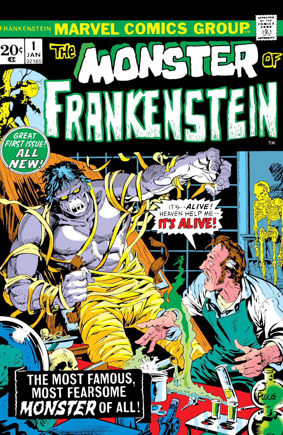 Frankenstein Monster Vol 1/Gallery
