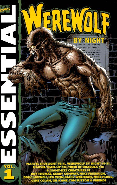 Essential Werewolf by Night Vol 1