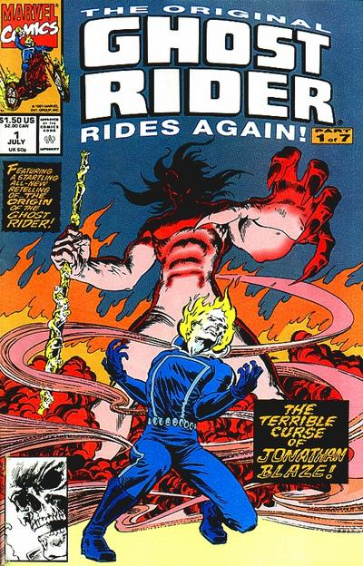 Original Ghost Rider Rides Again Vol 1