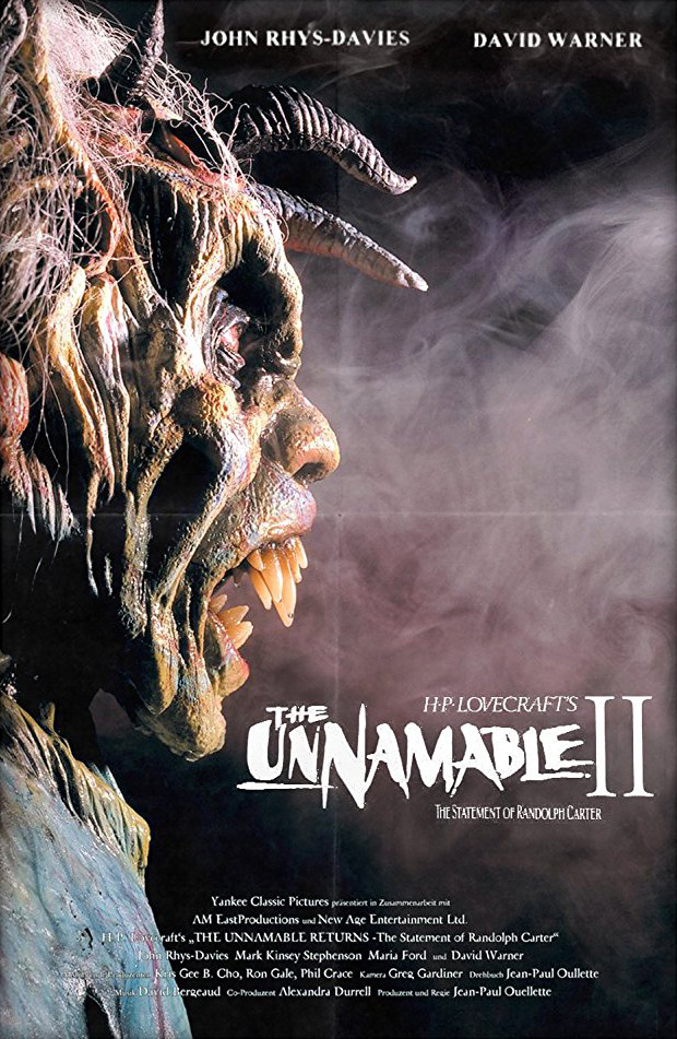 Unnamable II: The Statement of Randolph Carter, The
