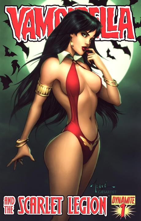 Vampirella and the Scarlet Legion Vol 1 1