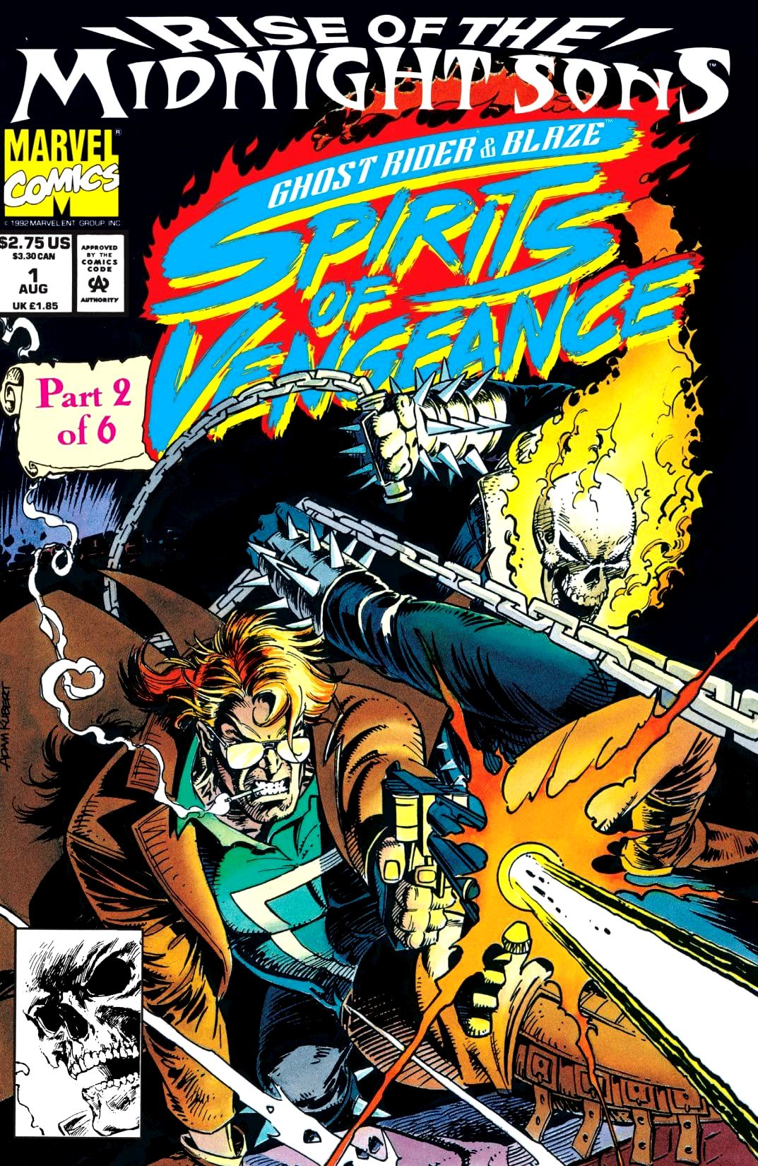 Ghost Rider & Blaze: Spirits of Vengeance 1