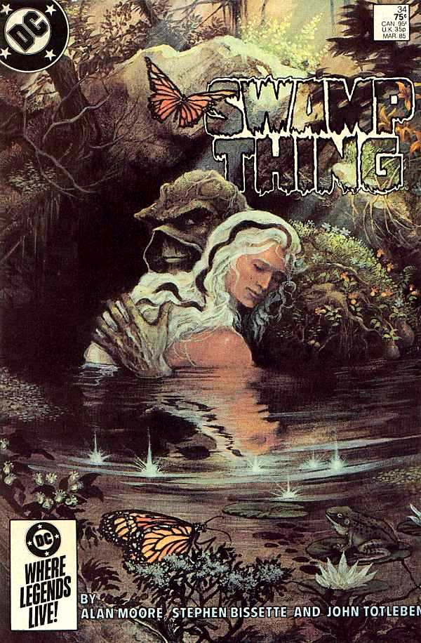 Swamp Thing Vol 2 34