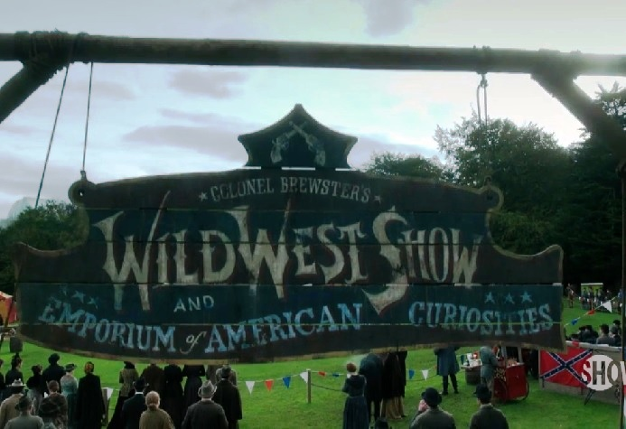 Colonel Brewster's Wild West Show and Emporium of American Curiosities
